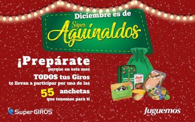 CAMPAÑA AGUINALDOS NAVIDAD SUPERGIROS