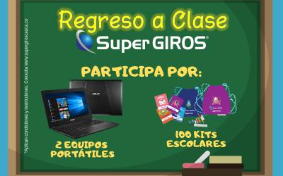 REGRESO A CLASE CON SUPERGIROS