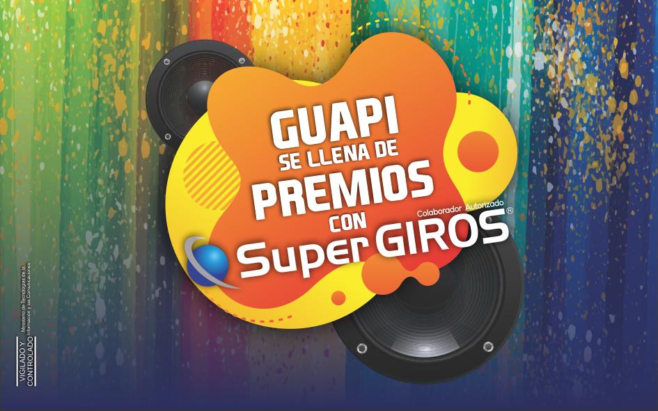 """REGLAMENTO CAMPAÑA """"Gaupi se Llena de Premios con SuperGIROS"""