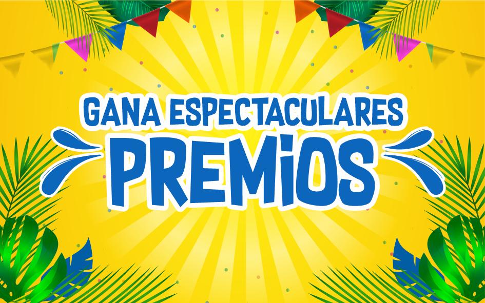 """Gana Espectaculares Premios"""